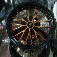 VELG ROSSI TAPAK LEBAR MOTOR YAMAHA MIO UKURAN 215/250 RING 14