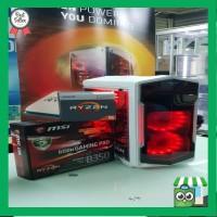 PC Gaming Rakitan Ryzen 5 2400G With MSI B350M Gaming PRO