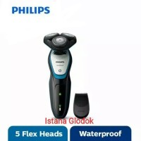 PHILIPS Shaver 3HD CBS70 With Trimmer S5070 Asli Original