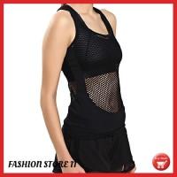 Baju Olahraga Wanita / Tanktop Sport Olahraga Gym Fitness Senam Zumba