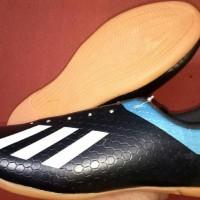 New Sepatu Futsal Adidas Sol Original Big Size 44 45 46 - Hitam Oren,