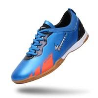 New Sepatu Eagle Barracuda - Futsal Shoes - Blue, 38 Berkualitas