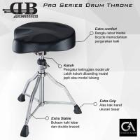 Bangku Drum DB Percussion Drat Ulir Kursi Throne Model Bicycle Vespa