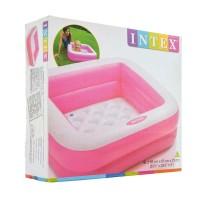 Intex Play Box Pools Kotak Pink. Kolam Renang Bak Mandi Anak u/ Hadiah