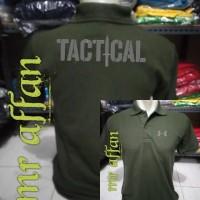 kaos kerah polo shirt tactical army terbaru