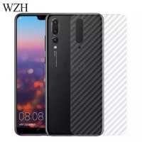 SKIN CARBON HUAWEI P20 PRO BACK CASE NON TEMPERED GLASS