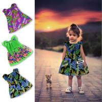 Gaun Dress Batik Pakaian Baju Bayi Usia 1 Sampai 2 Tahun Grosir Murah