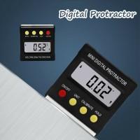 Cube Angle Gauge Meter Inclinometer Digital Protractor level box mini