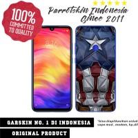 Garskin Redmi Note7 custom anti gores Captain America for back case