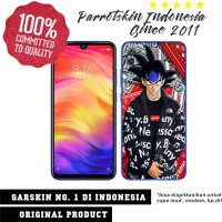 Garskin Redmi Note 7 custom anti gores Goku Hyperbeast for back case