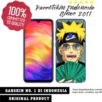 Garskin Redmi Note 7 custom anti gores Naruto Nike for back case