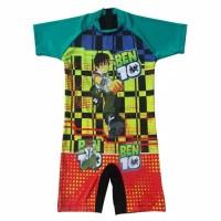 Baju Renang Anak SD Karakter Ben 10 Size M - XL