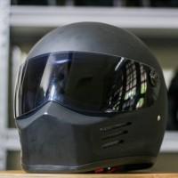 Outlaw Bandit Hitam - Helm Full Face