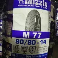 Mizzle Ban 90/80 Ring 14 M77 Tubeless Murah & Original