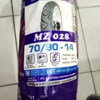 Ban Mizzle 70/90 Ring 14 MZ 028 (Ban Luar Non Tubeless / TT) Original