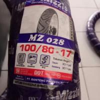 Ban Mizzle 100/80-17 MZ 028 (Ban Luar Non Tubeless / TT) Murah Ring 17