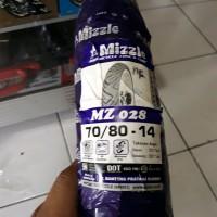 Ban Mizzle 70/80 Ring 14 MZ 028 (Ban Luar Non Tubeless / TT) Original