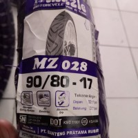 Ban Mizzle 90/80-17 MZ 028 (Ban Luar Non Tubeless / TT) Murah Ring 17