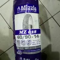 Ban Mizzle 60/90 Ring 14 MZ 028 (Ban Luar Non Tubeless / TT) Original