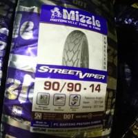 Mizzle Ban 90/90 Ring 14 Street Viper Tubeless Murah
