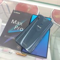 Asus zenfone Max Pro M2 4gb 64gb fullset ori mulus istimewa