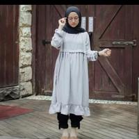 Nose tunic baju muslim wanita jaman now