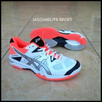 Promo Sepatu Tenis Meja Wanita Badminton Ori Asics Gel Tactic Original