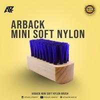 Arback Premium Mini Nylon Brush - Sikat Nylon Mini - For Upper Shoe