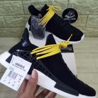 ADIDAS NMD HUMAN RACE BLACK WHITE HUMAN SPECIES BEST UA QUALITY PK