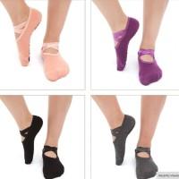 yoga socks / kaos kaki yoga / pilates Socks /Motif  Elegent Ballet