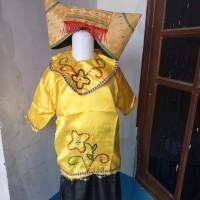 Baju Anak Cewek Adat daerah Minang Premium Carnaval TK