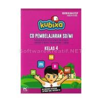 Kubixa CD Edukasi Kelas 4 KTSP (Untuk SD/MI) – PC CD-ROM