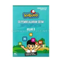 Kubixa CD Edukasi Kelas 3 KTSP (Untuk SD/MI) – PC CD-ROM