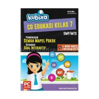 Kubixa CD Edukasi Kelas 7 KTSP (Untuk SMP/MTs) – PC CD-ROM