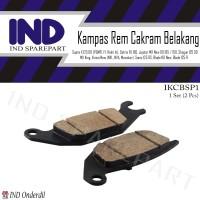 Kampas Rem Cakram Belakang-Discpad-Dispad Shogun 125 DD RR-SP-FL-Axelo