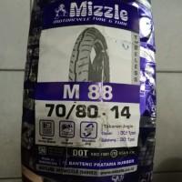 Ban Mizzle 70/80-14 Ring 14 M 88 Tubeless Murah & Berkualitas
