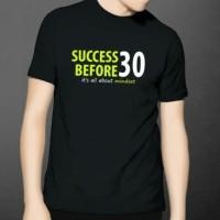 Kaos Success Before 30 SB30 Chandra Putra Negara Badai Pasti Berlalu