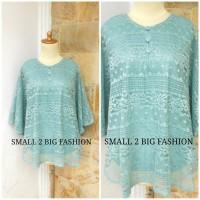 kebaya jumbo / atasan jumbo / baju bigsize / blouse brokat big size