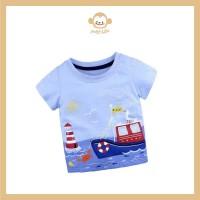Sailor T-shirt anak laki-laki / kaos anak pria cowok / baju anak bayi