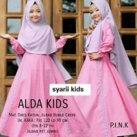 BAJU MUSLIM ANAK PEREMPUAN || Baju Gamis Muslim Anak Rabbani set
