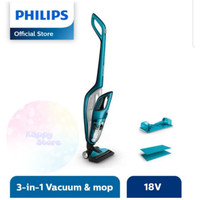 PHILIPS Vacuum Cleaner 3 in 1 Bagless FC6404 Vaccum Cleaners FC 6404