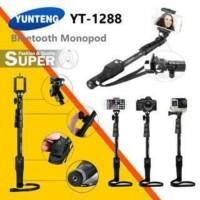 Tongsis YUNTENG Monopod Bluetooth YT-1288 selfie