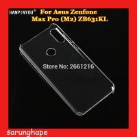 Clear Hard Case Casing Transparan Asus Zenfone Max Pro M2 ZB631KL