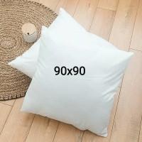 bantal lantai / jumbo 90x90 ( isi 2,5 kg)