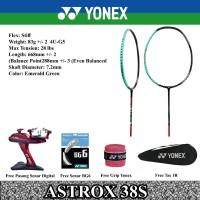 RAKET BADMINTON YONEX ASTROX 38S 38 S KEVIN ORIGINAL