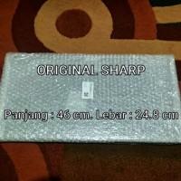 Rak Kulkas Sharp Tempered Glass Original Asli Ori