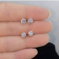 Anting giwang berlian percis asli
