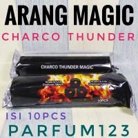 Arang magic CHARCO THUNDER - arang briket magic - areng bara shisa