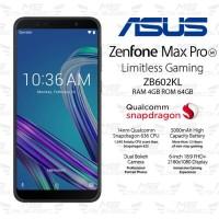 Asus Zenfone Max Pro M1 4/64 ZB602KL - Garansi Resmi - Black