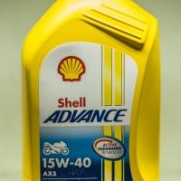 Oli Motor High technology Shell Advance AX5 15W-40 1L